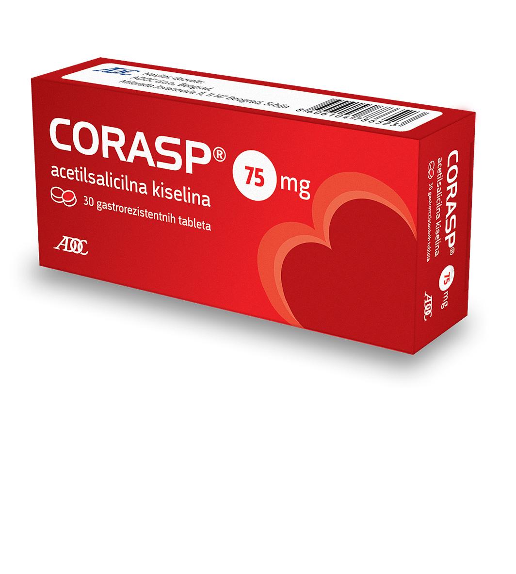 Corasp 75mg - Kad srce pozove